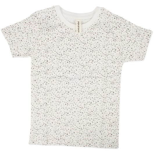 Popupshop Short Sleeve Tee Dots White