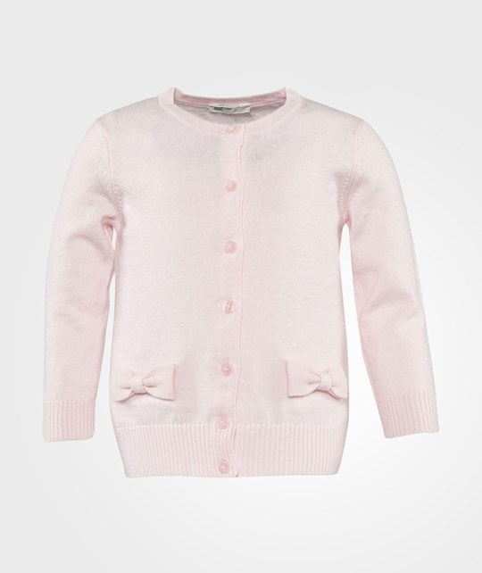 United Colors of Benetton Knit Cardigan Pink Pink