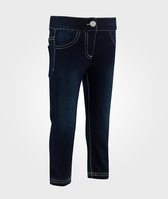 United Colors of Benetton Denim Jeggings With Elasticated Waistband Denim Dk Wash Denim Dk Wash