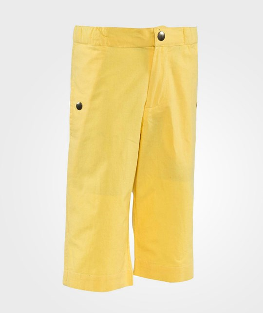 How To Kiss A Frog Charles shorts Yellow Yellow