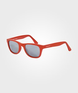 Rainbow & Snow Sunglasses Plastic Matte Red