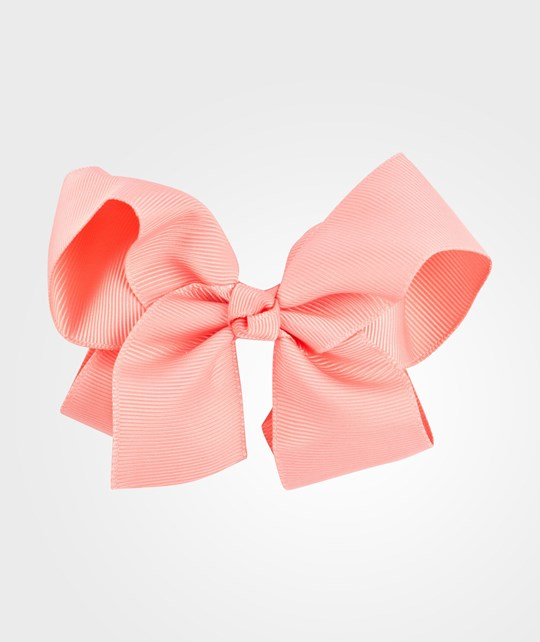 Livly Girls Large Bow Fusion Coral Pinkki