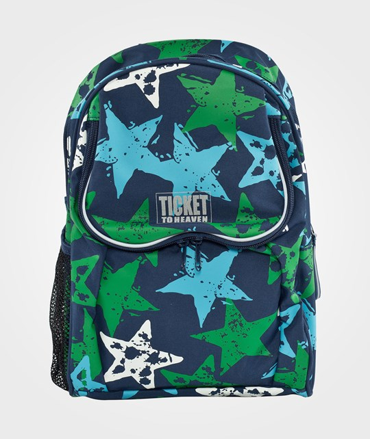 Ticket to heaven Beginners Backpack Stars Multi