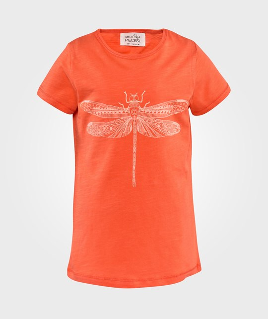 Little Pieces Muse Ss Toop Hot Coral Hot Coral
