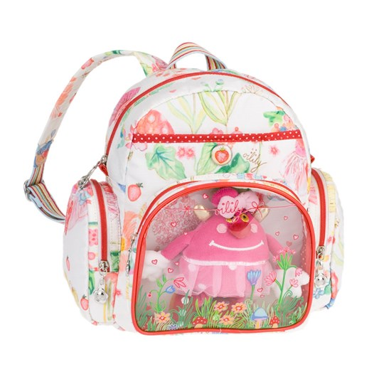 Oilily Fairy Tale Backpack White Multi