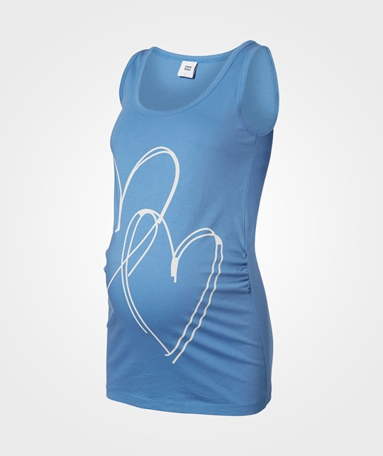 Mamalicious Heart Statement Jersey Tank top  Riviera