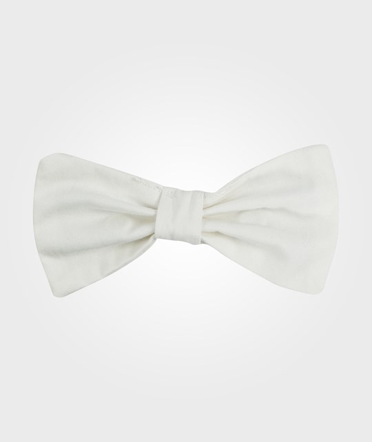 The Tiny Universe The Tiny Attachable Bow Tie/Off-White off-white