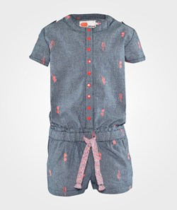 NONO Sarah Short Jumpsuit Grey
