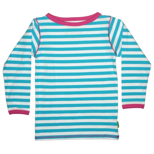 Plastisock Scoop Neck Stripe Blue Blue