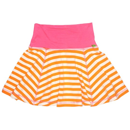 Plastisock Skirt Stripe Orange Oranssi
