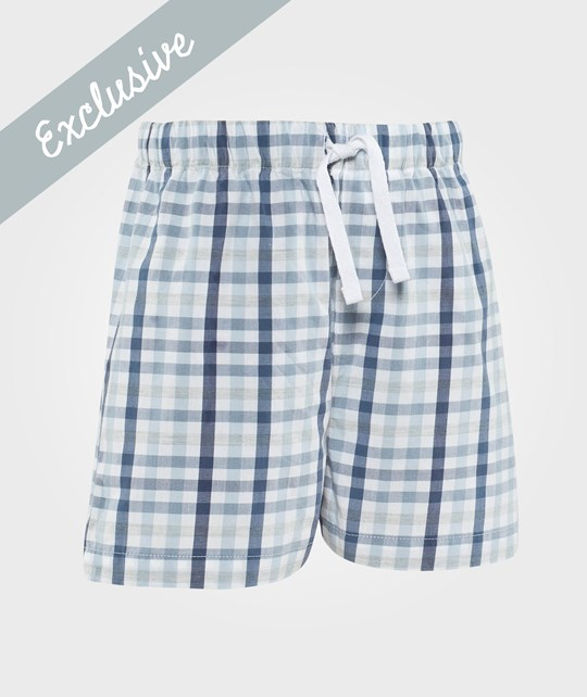 The Little White Company Shorts Blue And White Blue