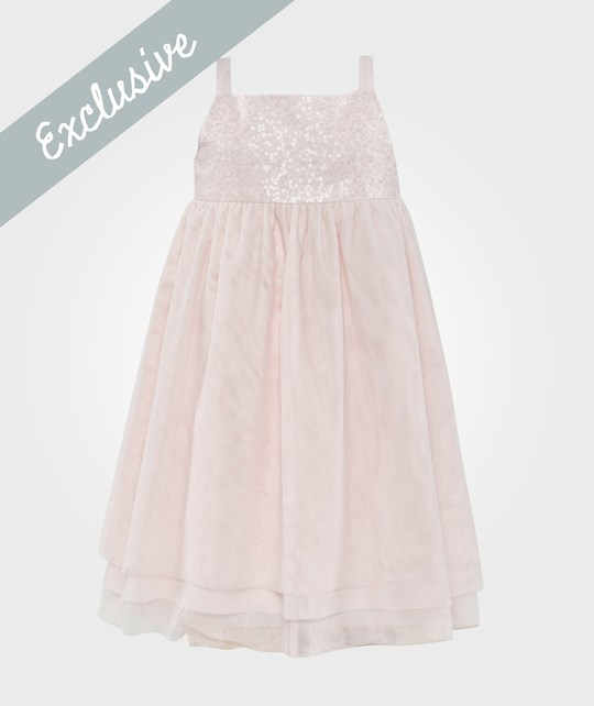 The Little White Company Sequin Dress Pink Pink