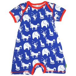 Plastisock SS Body Suit Circus Blue
