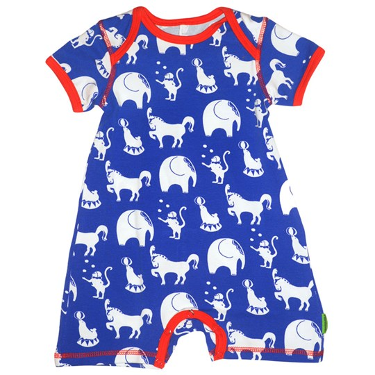 Plastisock SS Body Suit Circus Blue Blue