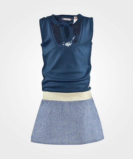 NONO Milla No Sleeve Dress Navy