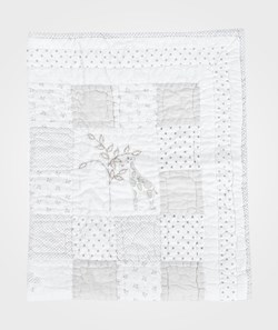 The Little White Company Cot Quilt Grey And White