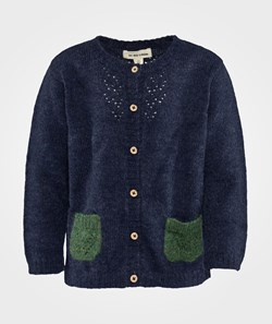 As We Grow Lace Cardigan Midnight Blue