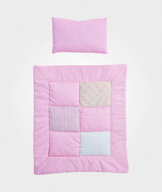 Kids Concept Dollbed Bedcover Pink Rosa