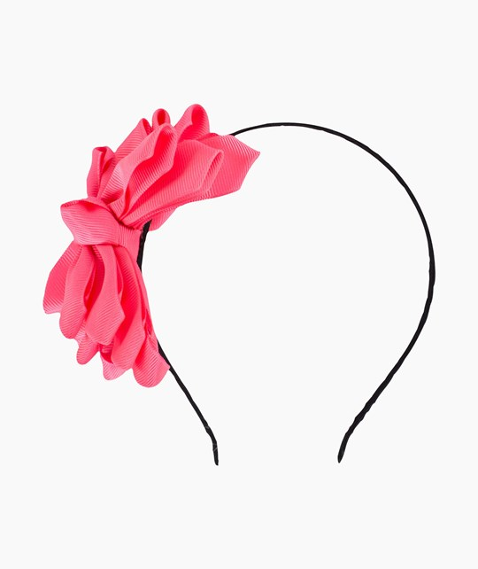 Molo Giant Bow Hairband Diva pink Pink