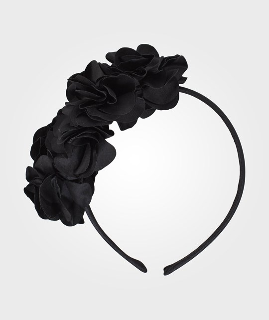Molo Frilly Hair Band Black Multi