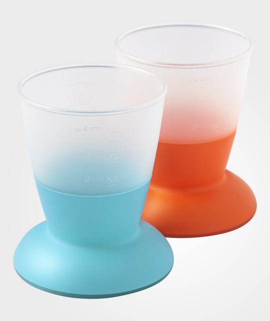 Babybjörn Baby Cup Orange/Turquoise