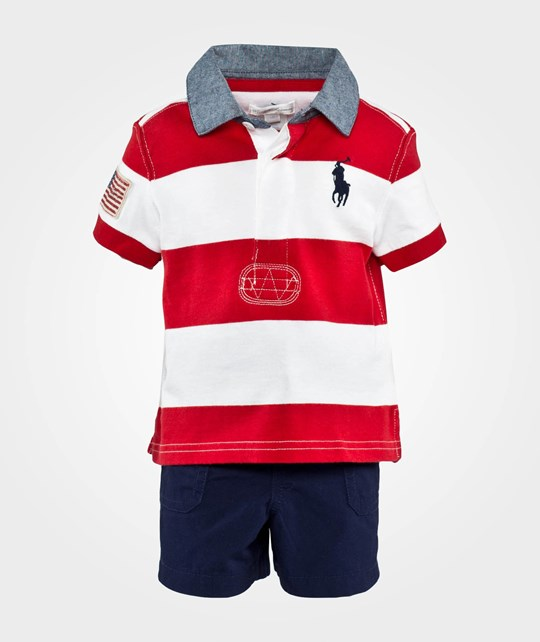 Ralph Lauren Rugby Set Rl2000 Red Multi Red