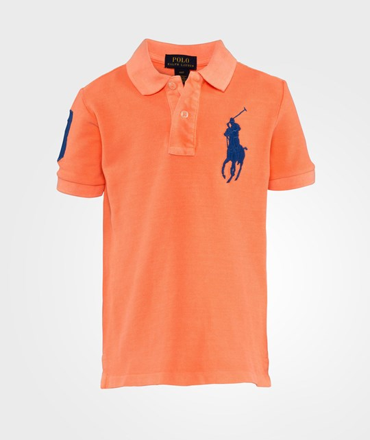 Ralph Lauren Ssl Neon Big Pp Orange Flash Orange