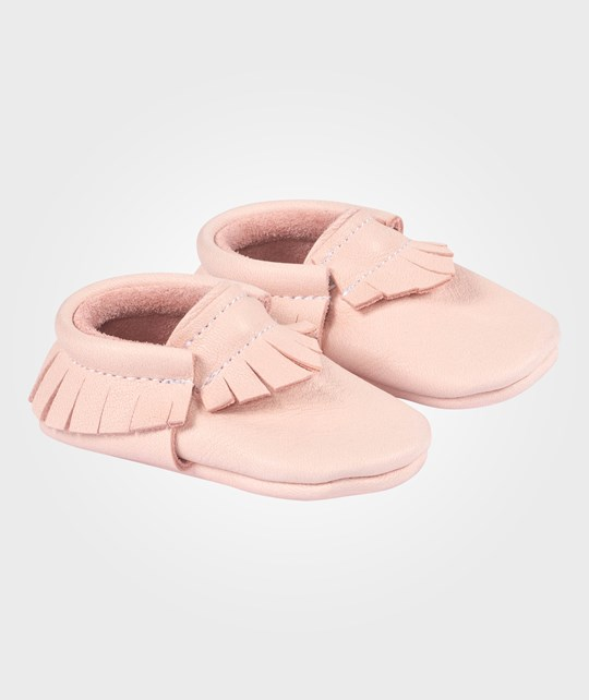 Little Lambo Blush Moccasins Rosa