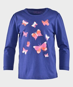Esprit Butterfly Baby Ts Blue