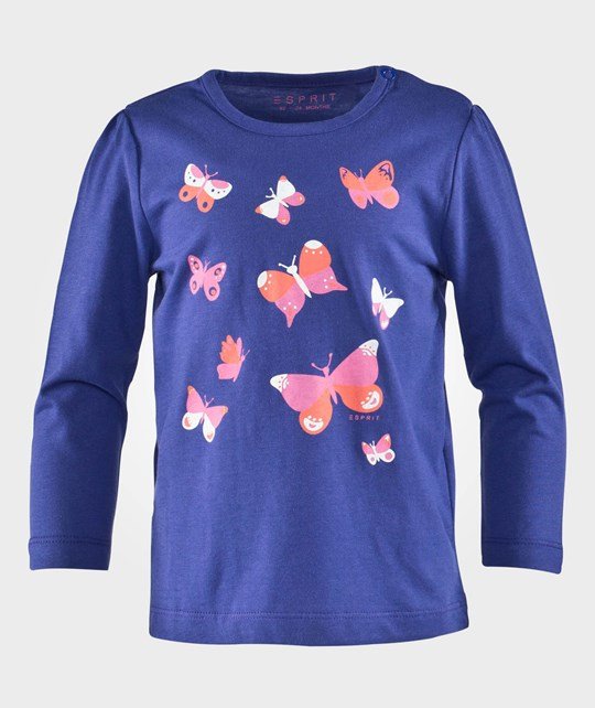 Esprit Butterfly Baby Ts Blue Sand