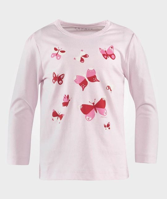 Esprit Butterfly Baby Ts Light Pink Pink