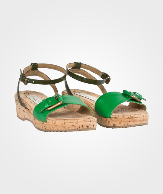 Stella McCartney Kids Linda Contrast Colour Sandals Apple Apple