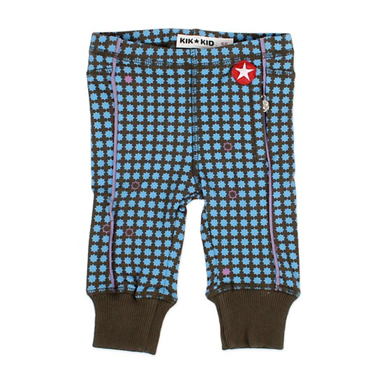 Kik Kid Legging Jersey Star Darkgrey Multi