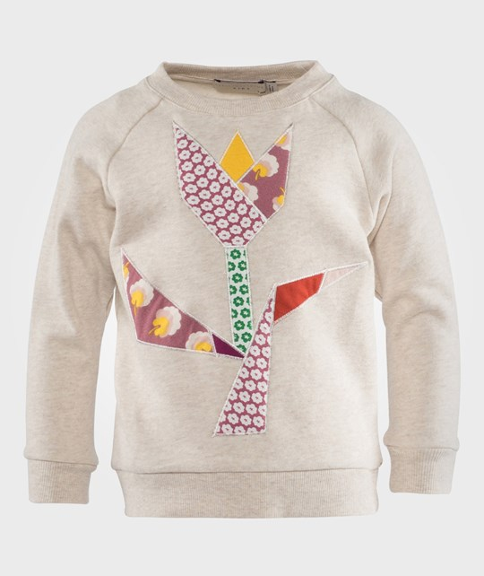 Stella McCartney Kids Свитшот Betty Sweatshirt Cream Белый