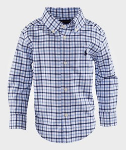 Ralph Lauren Lsl Blake Shirt Blue Multi