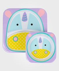 Skip Hop Zoo Plates Unicorn Multi