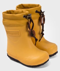 Bisgaard Rubber Boot Wool Yellow Gul