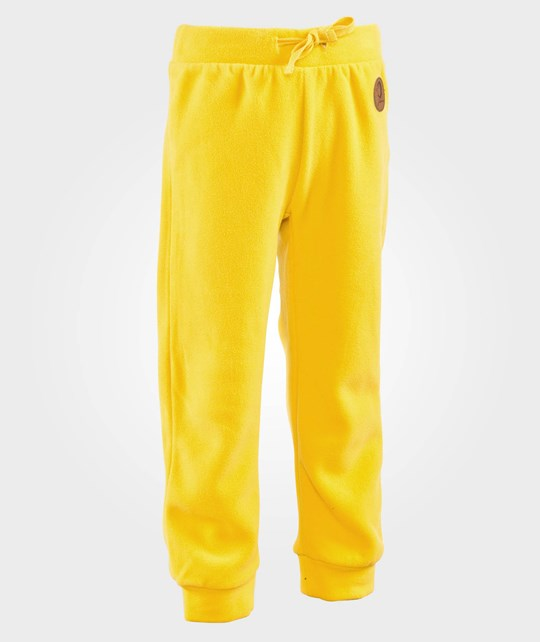 Mini Rodini Fleece Trousers Yellow Yellow