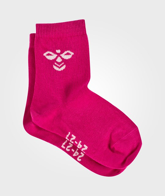 Hummel Sutton Socks Beetroot Purple Pink