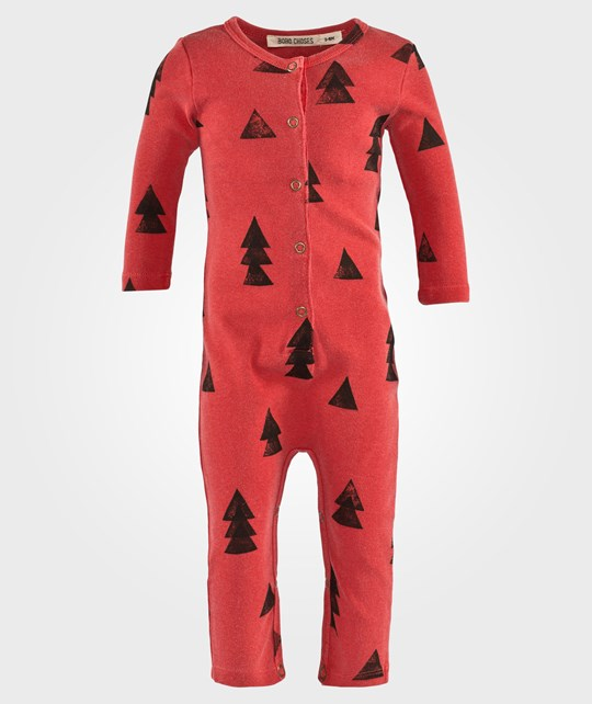 Bobo Choses Baby Jumpsuit Woods AO Red