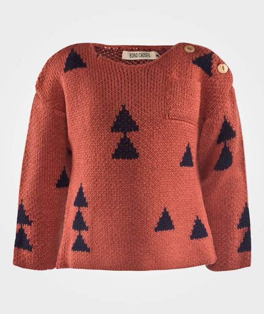 Bobo Choses Baby Jumper Woods AO Brown