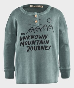 Bobo Choses T-shirt LS buttons Mountains