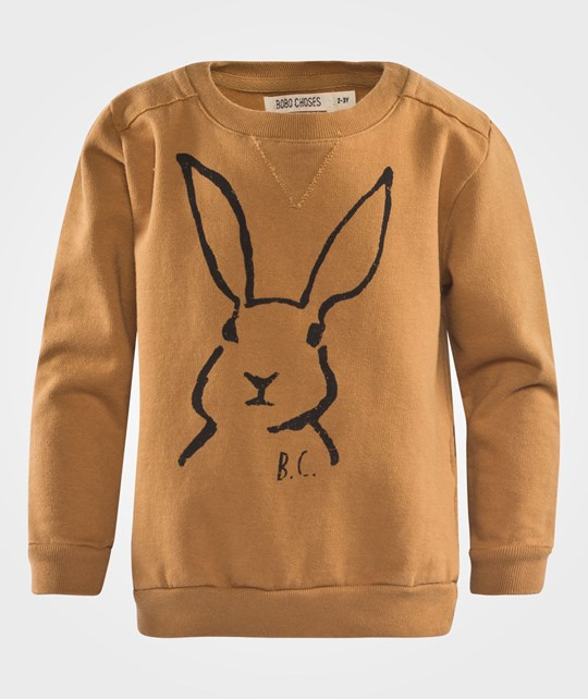 Bobo Choses Sweatshirt Crew Neck Hare Brown