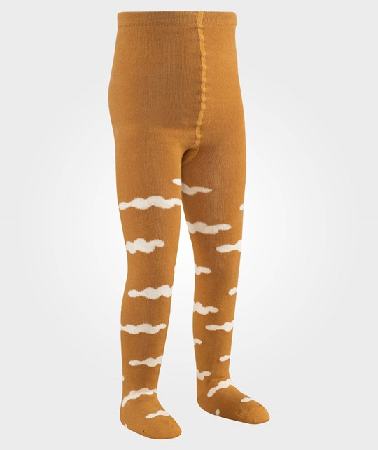 Bobo Choses Tights Clouds AO Brown