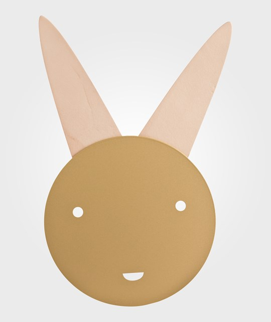 Lilys Island Bunny Lamp Gold Gold
