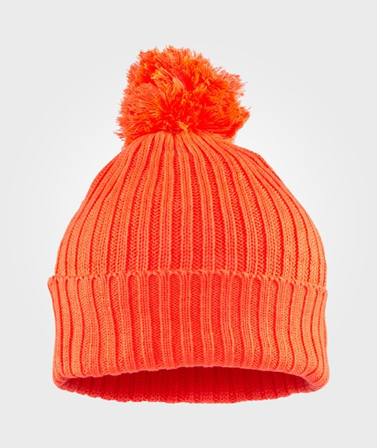 Stella McCartney Kids Tweedle Hat Hot Orange Oransje