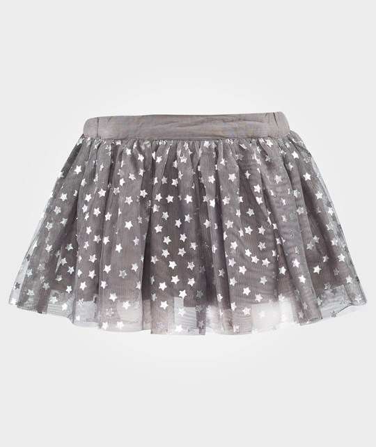 Stella McCartney Kids Honey Skirt Spaceship Grey Grå