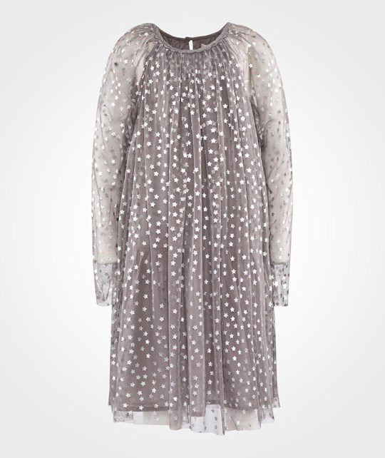 Stella McCartney Kids Misty Dress Spaceship Grey Grå