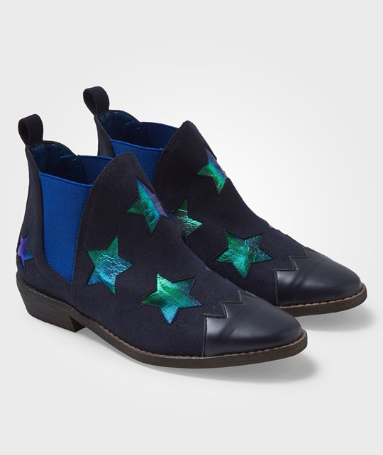 Stella McCartney Kids Lily Boots Midnight Blue