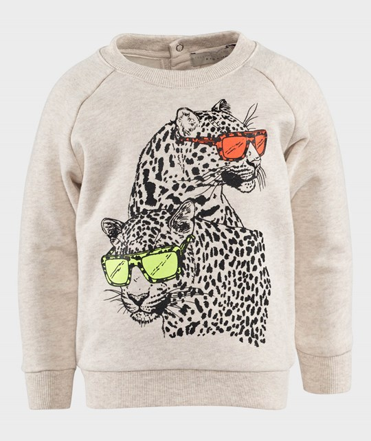 Stella McCartney Kids Billy Sweater Cream Hvid